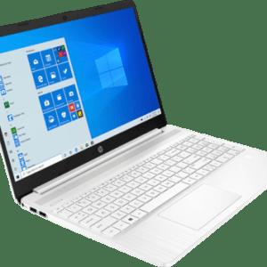 """מחשב נייד לבן """"15.6 HP 15s-eq1011nj"""