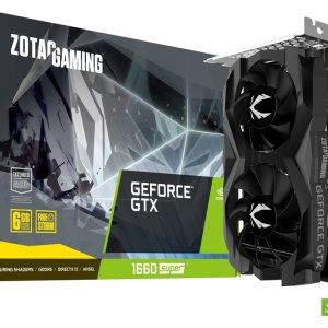 כרטיס מסך ZOTAC GAMING GeForce GTX 1660 SUPER 6GB Twin Fan ZT-T16620F-10L