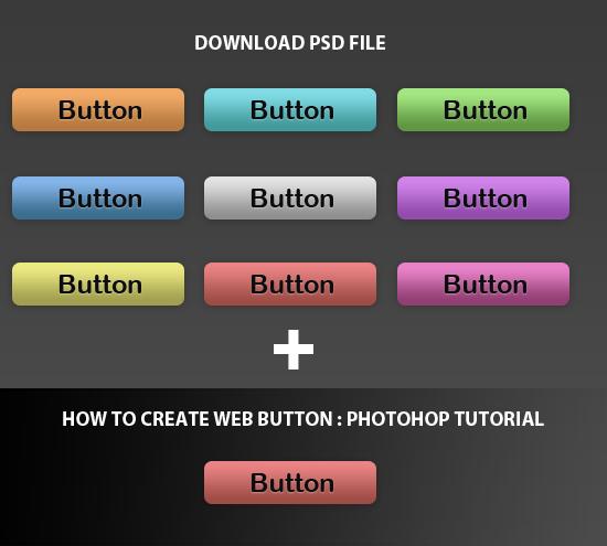 web-button-heading