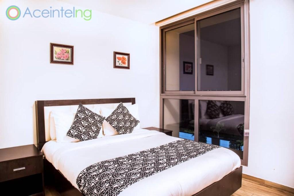 2 bedroom apartment for short let in Eko atlantic city - bedroom private view