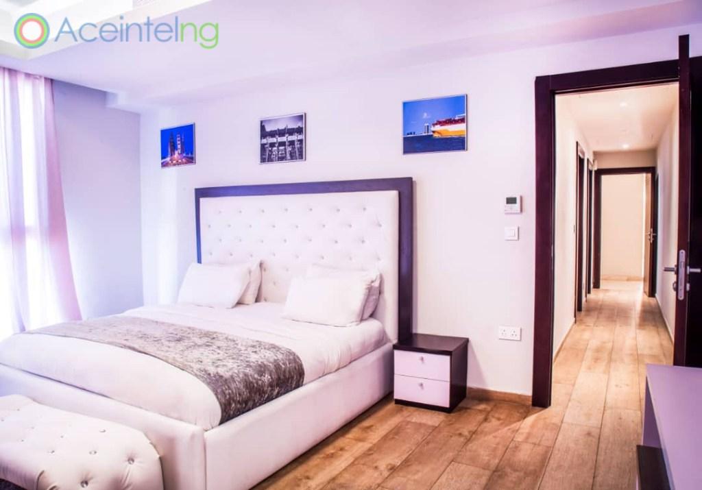 2 bedroom apartment for short let in Eko atlantic city - bedroom