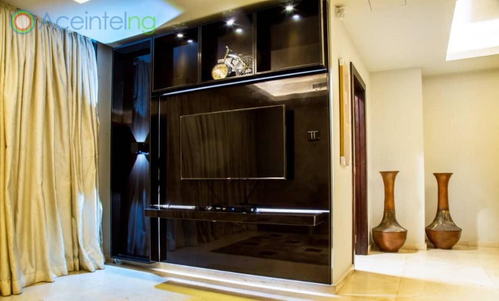 2 bedroom apartment for short let in Eko atlantic city - design