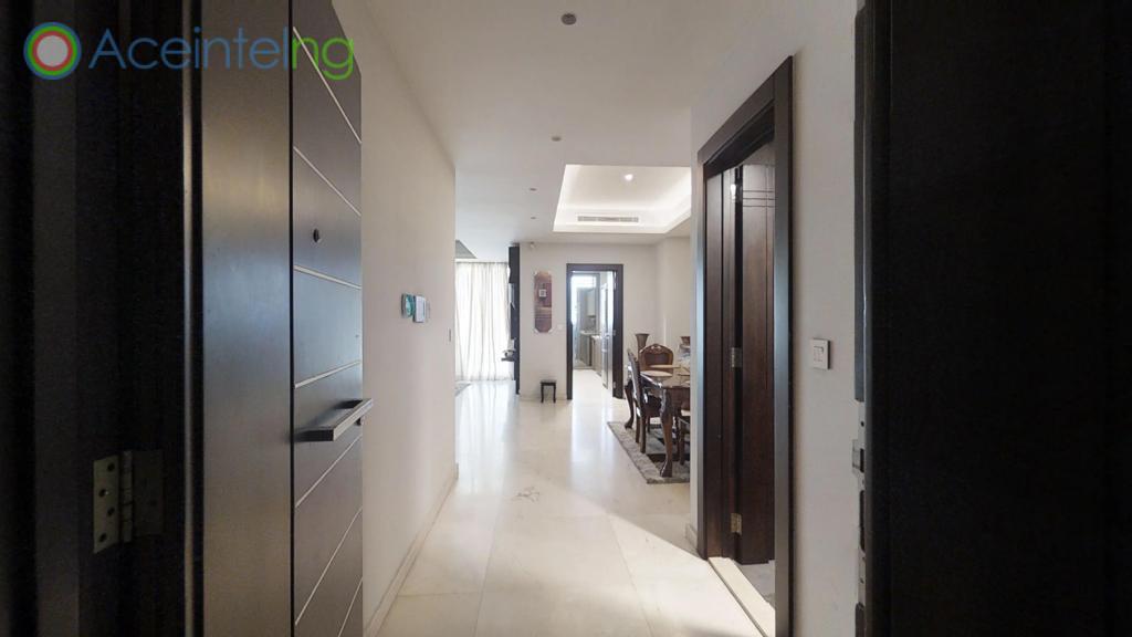 2 bedroom apartment for short let in Eko atlantic city - passage