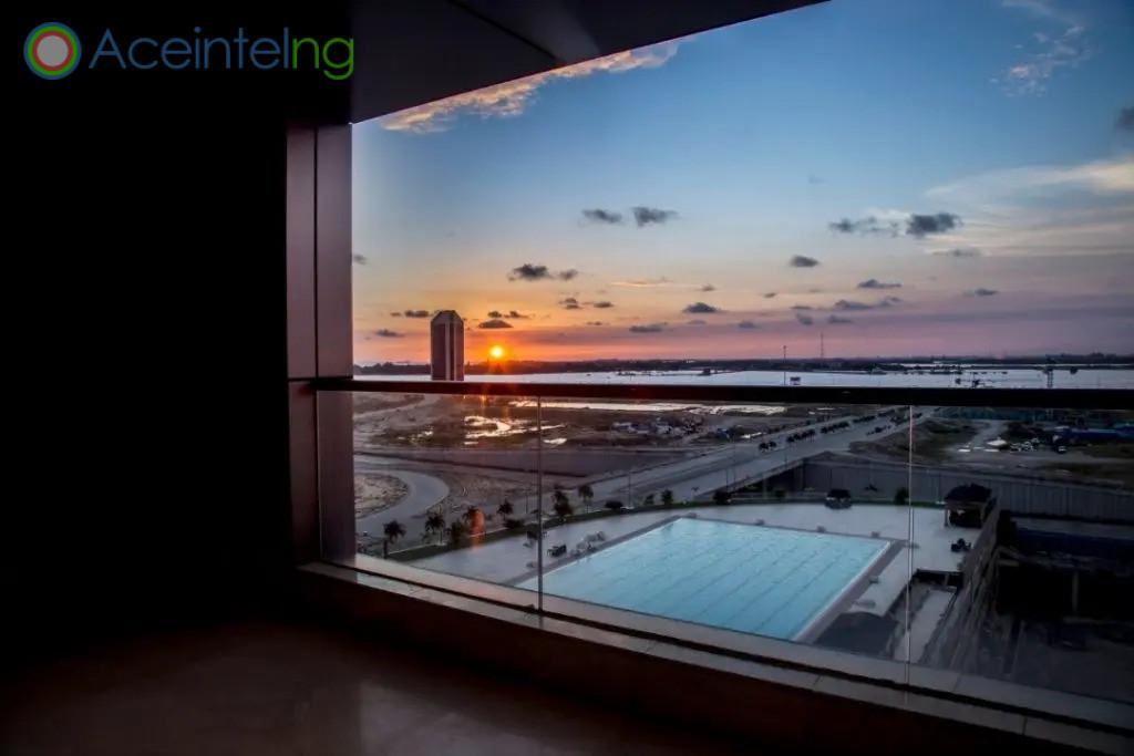 3 bedroom apartment for shortlet in eko atlantic - eko pearl - view