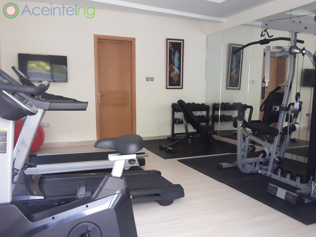 5 bedroom duplex for rent in banana Island ikoyi - gym
