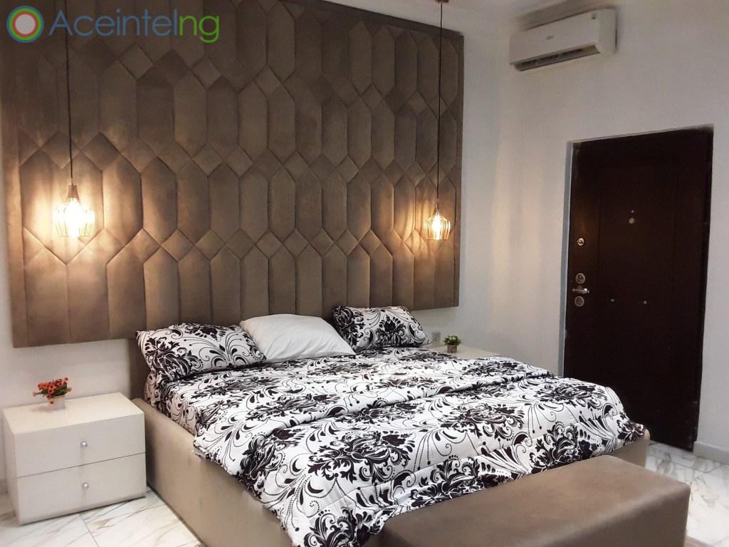 5 bedroom duplex for shortlet in chevron lekki lagos - bedroom