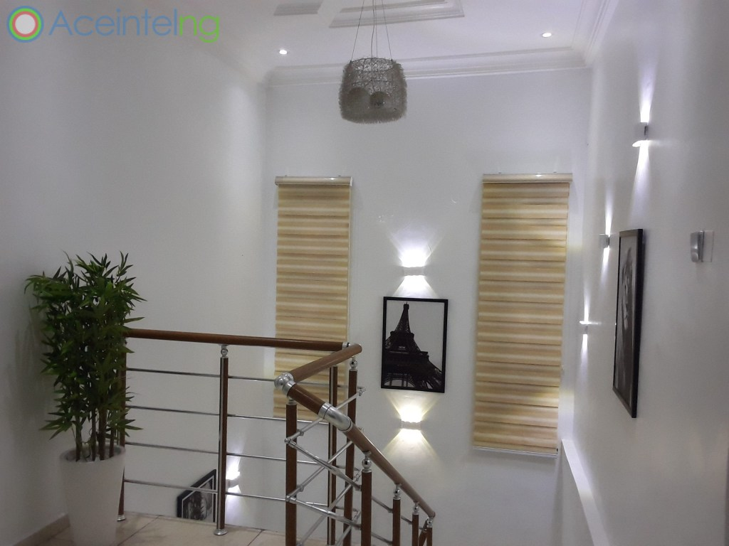 5 bedroom duplex for shortlet in chevron lekki lagos - stairs