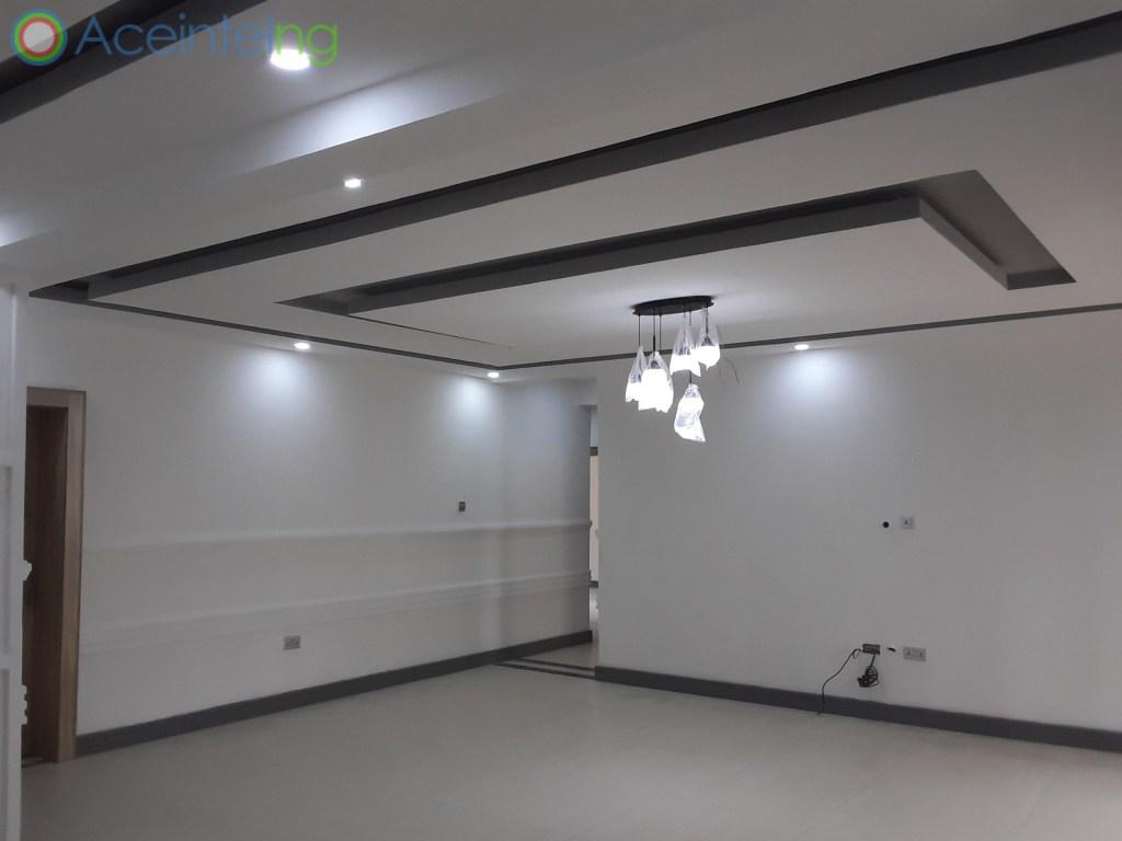 3 bedroom flat for rent in Ikoyi Lagos Nigeria - living room view