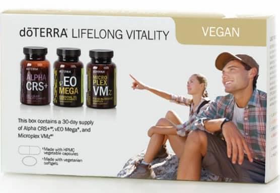 dōTERRA Lifelong Vitality Pack® (Vegan)