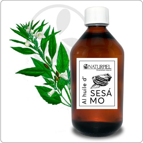 Aceite de Semilla de Sésamo – Virgen Orgánico