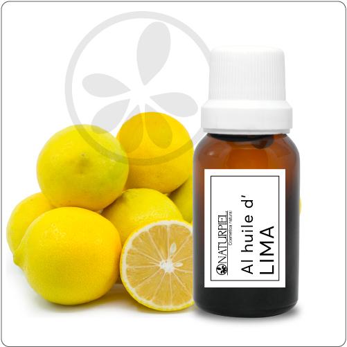 Aceite esencial de lima (citrus aurantifolia) – orgánico 100% puro