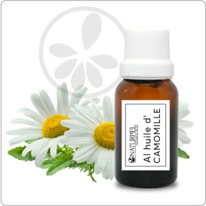 Aceite esencial de Manzanilla Romana –orgánico 100% puro