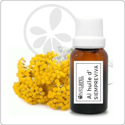 Aceite esencial de siempreviva (helichrysum italcum) 100% puro