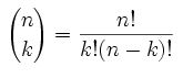 Binomial Theorem and Its Applications