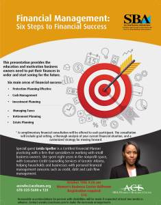 Financial Management Six Steps to Financial Success