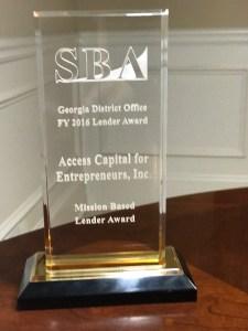 ACE Lender Award