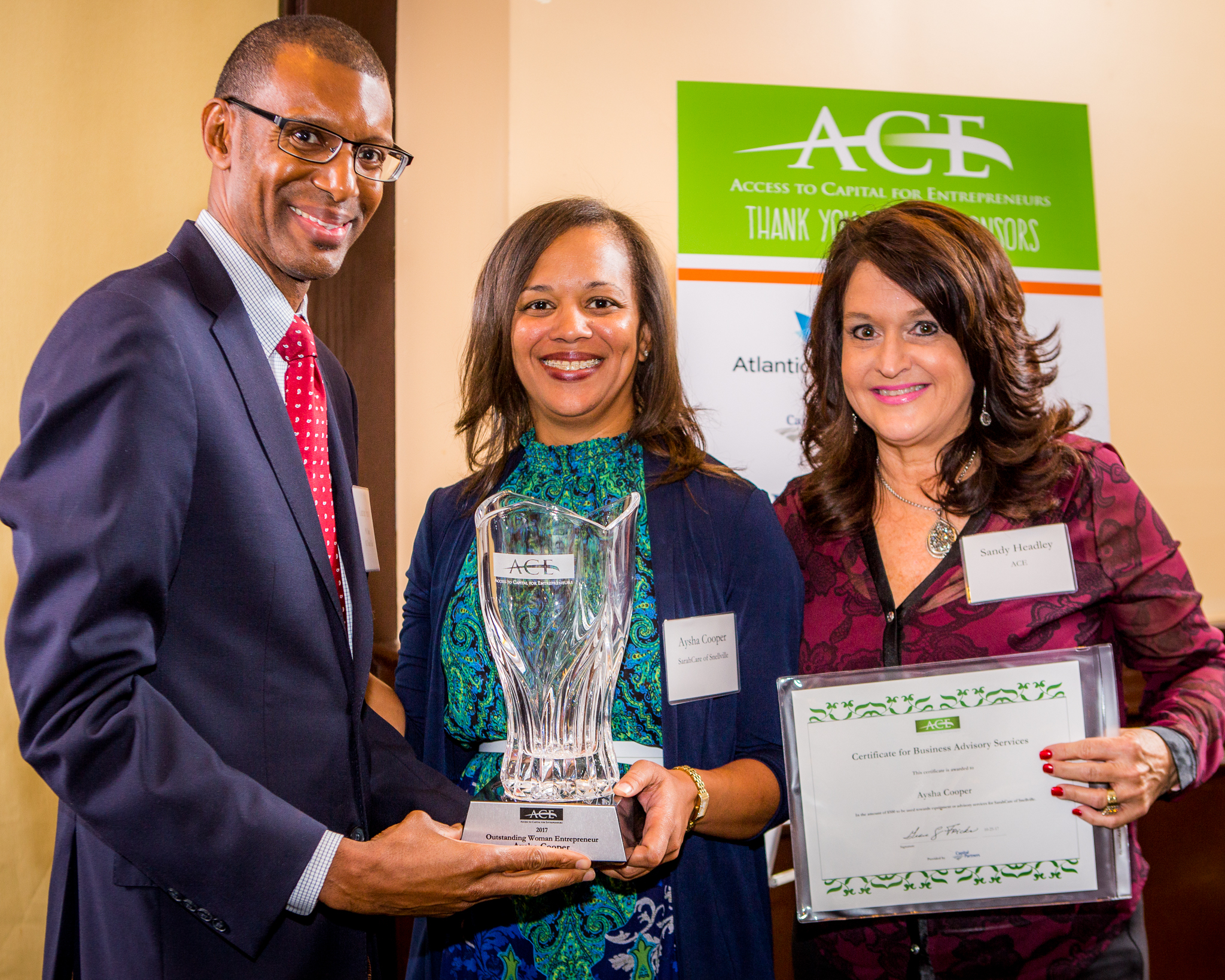 ACE Honors Entrepreneurs and Partners | Access to Capital for