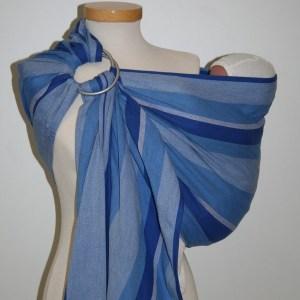 Storchenwiege® bio sling z obročki Eric 1