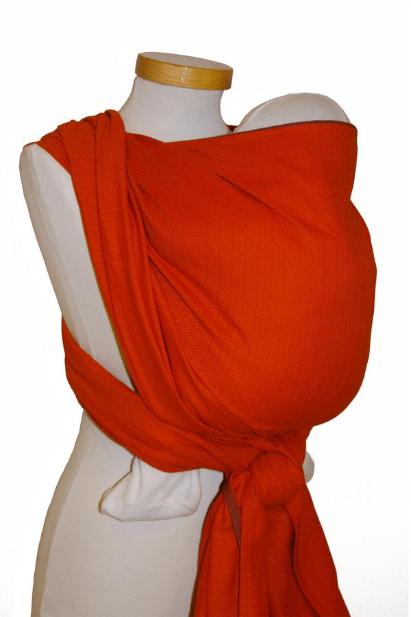 Storchenwiege® tkani trak Leo oranžni 1
