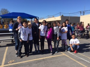 "Ten fifth graders chosen to perform at the CCSD Orff Festival. These students will join 27 other elementary schools in the 24th annual ""Growing In Song."""