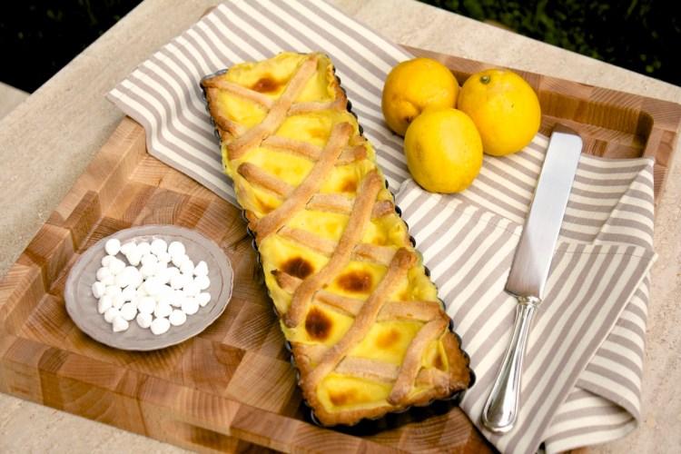 Frolla alla vaniglia con crema al limone