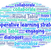 Creating dialogues using a cooperative learning strategy