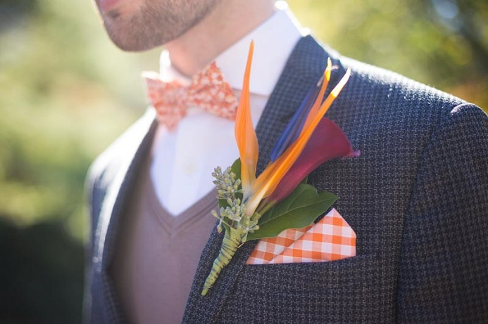 bird-of-paradise-boutonniere
