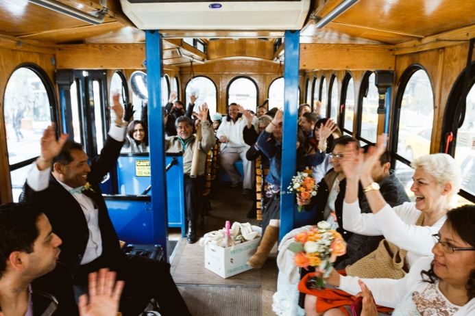 nyc-trolley-ride-wedding-central-park