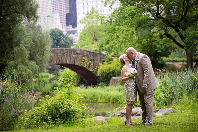 they completed their day in the park with a great meal at tavern on the green congratulations genelle and brad - Shakespeare Garden Central Park