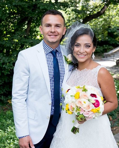 Ceremony And Picnic Wedding Reception At Cherry Hill Central Park