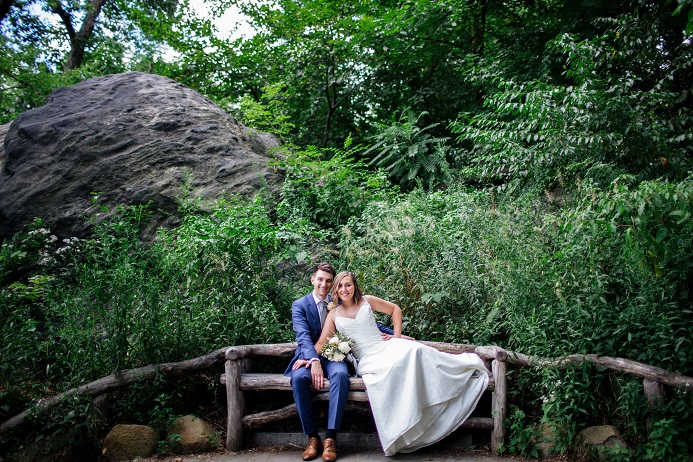 intimate central park wedding in shakespeare garden - Shakespeare Garden Central Park
