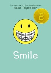 Cover of Smile by Raina Telgemeier