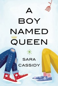 Cover of A Boy Named Queen by Sara Cassidy
