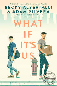 Cover US of What If It's Us by Becky Albertalli and Adam Silvera