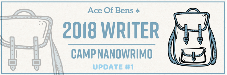 Camp NaNoWriMo Update #2