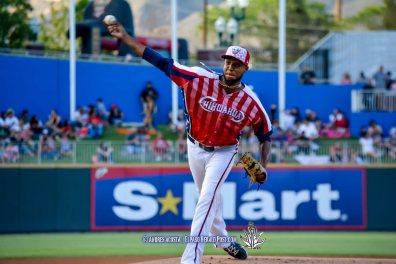 #50 Bryan Rodriguez Reno Aces Vs El Paso Chihuahuas, Independence Day Celebration