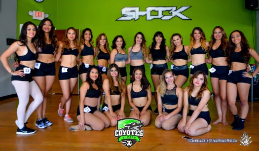 The 2016-2017 El Paso Coyotes Dance Team - LAT Studios.