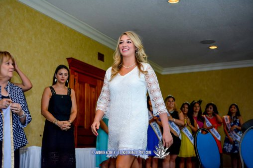 The 2016 Sun Queen Katherine Carroll-Miller at the 2016 Sun Court Coronation at the El Paso Country Club