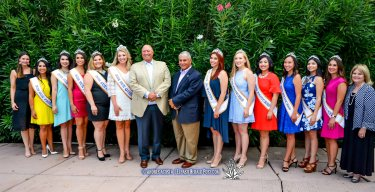 The 2016 Sun Court at the 2016 Sun Court Coronation at the El Paso Country Club