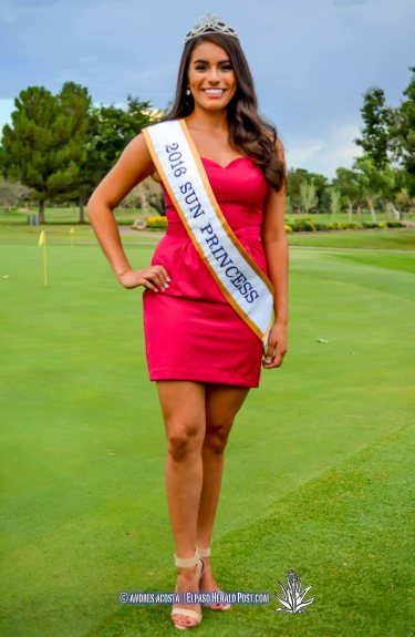 2016 Sun Princess Katie Gallegos at the 2016 Sun Court Coronation at the El Paso Country Club