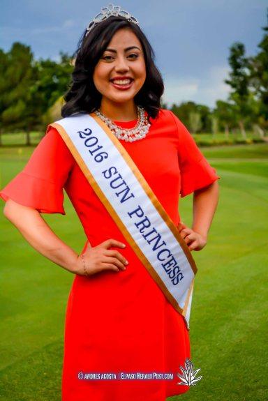 2016 Sun Princess Lauren Pena at the 2016 Sun Court Coronation at the El Paso Country Club