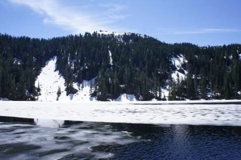Mason Lake in the early season