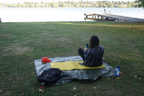 The Z Lite is great for picnics too