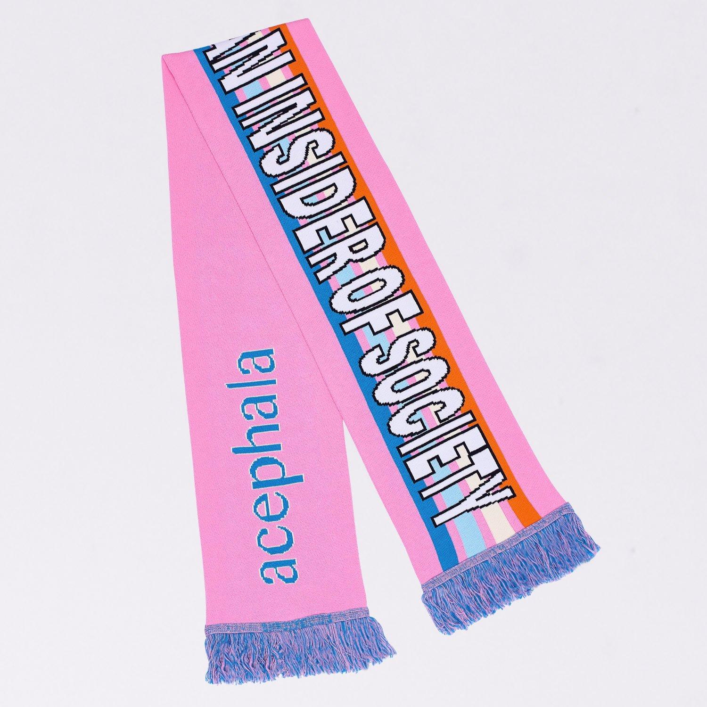 Acephala Fw2020 Scarf Pink