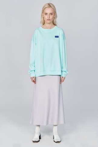 Acephala Ss21 Unisex Mint Sweatshirt Front 1