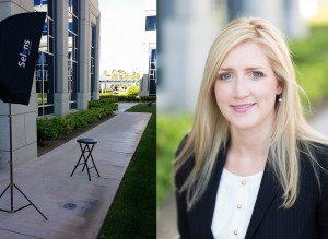 Outdoor Business Headshot Sample