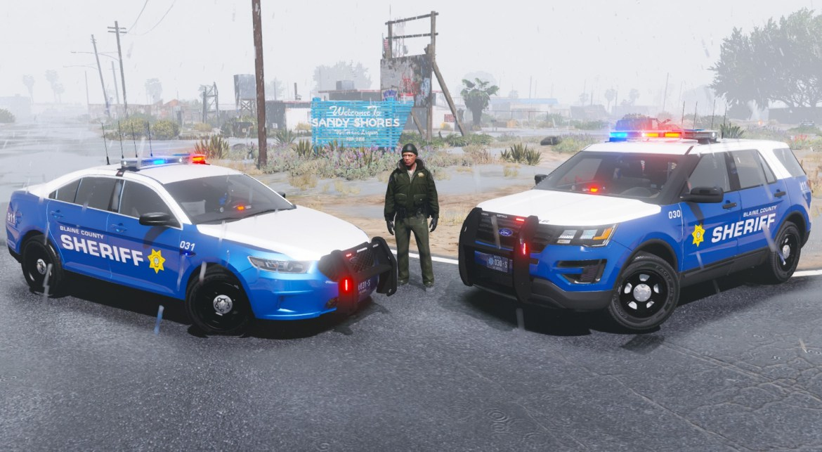 Blaine County Sheriff Office Pack [RX2700] By Maurice97 - AcePilot2k7