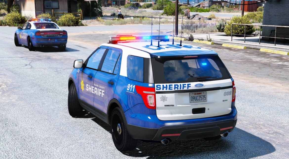 Blaine County Sheriff Office Pack [RX2700] By Maurice97