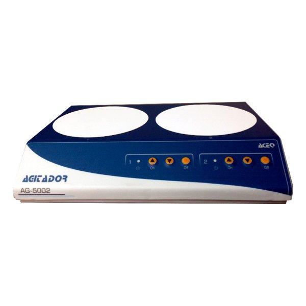 Agitador de laboratorio AG-5002 de 2 puestos
