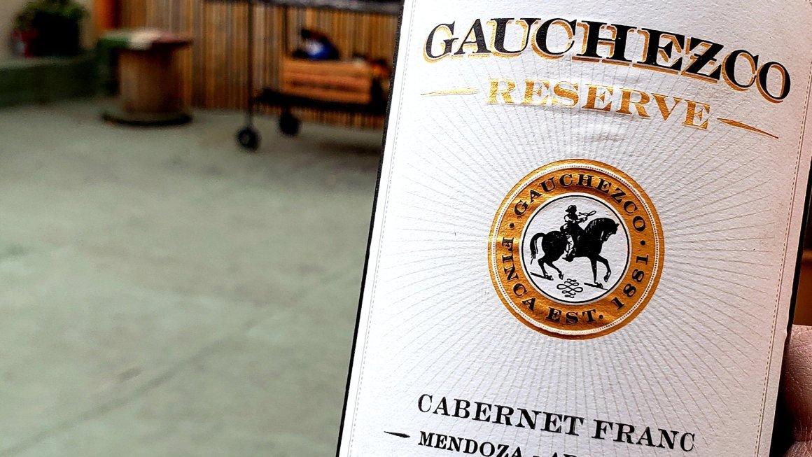 #TobaraWines: Gauchezco Reserve Cabernet Franc 2016